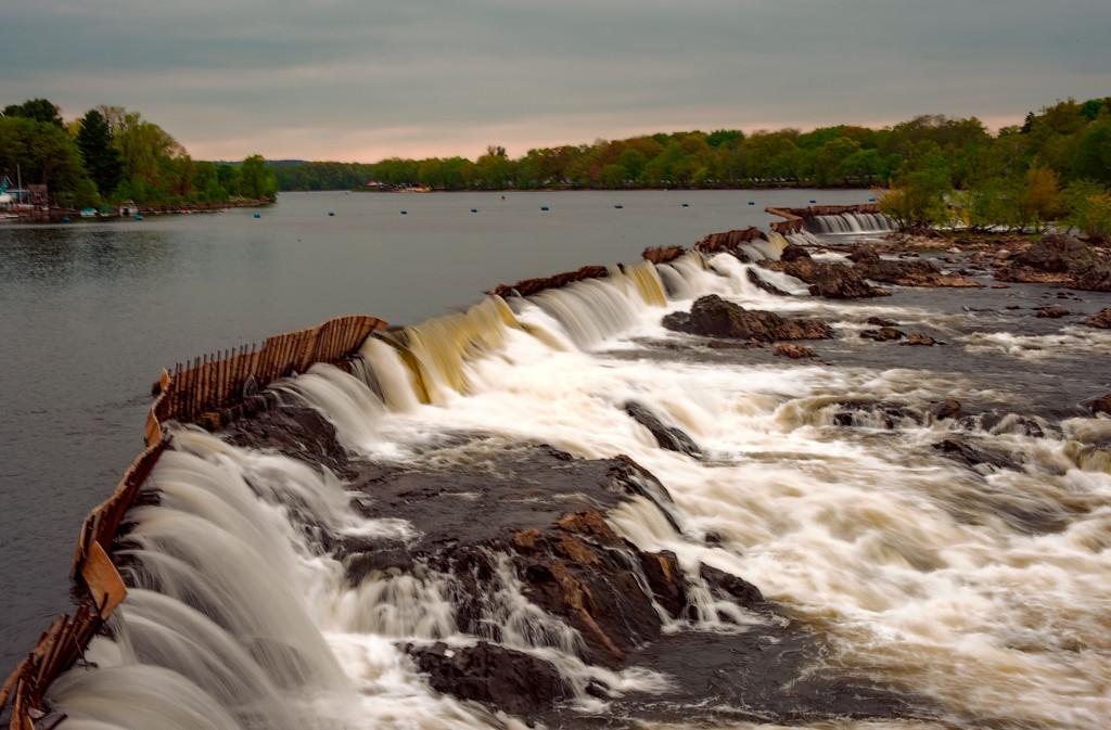 Pawtucket Falls on the Marrimack River