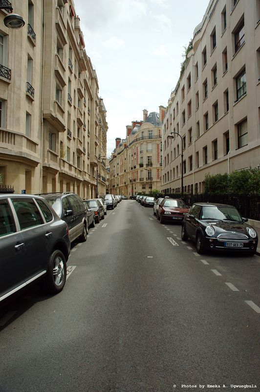 Paris City Street