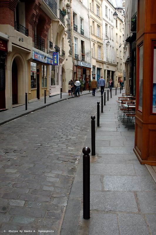 Street in the Latin Quarter