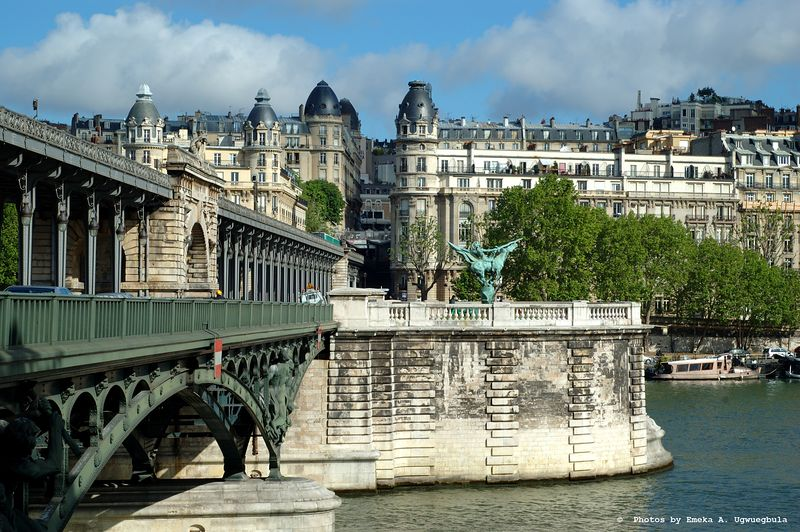 Bridge - Lovely example of the detailed work in the numberous bridges that span the Seine River