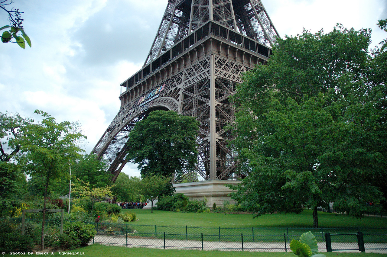 Base of the Eifel Tower