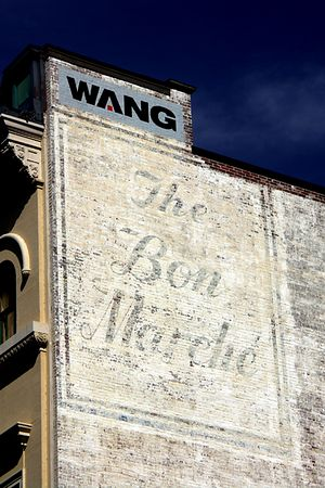 The Bon Marche & Wang