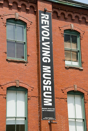 The Revolving Museum as It appeared when it was in this location in Lowell, MA