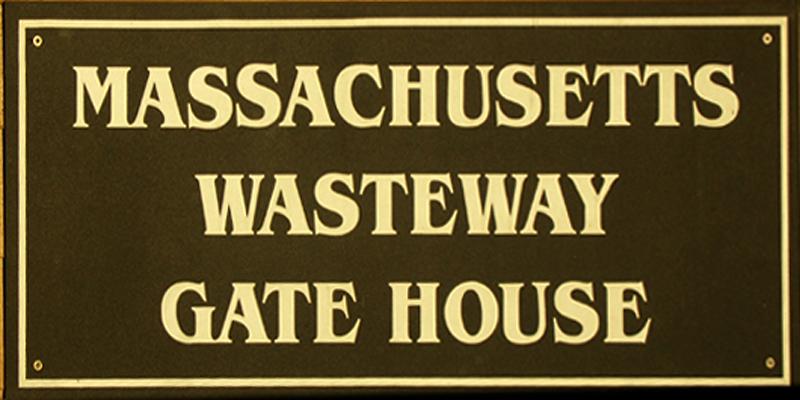 Massachusetts Wasteway Gate House