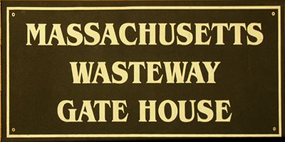 Massachusetts Wasteway Gate House