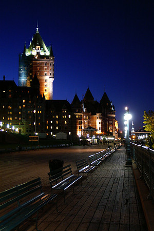 Evening on the boardwalk