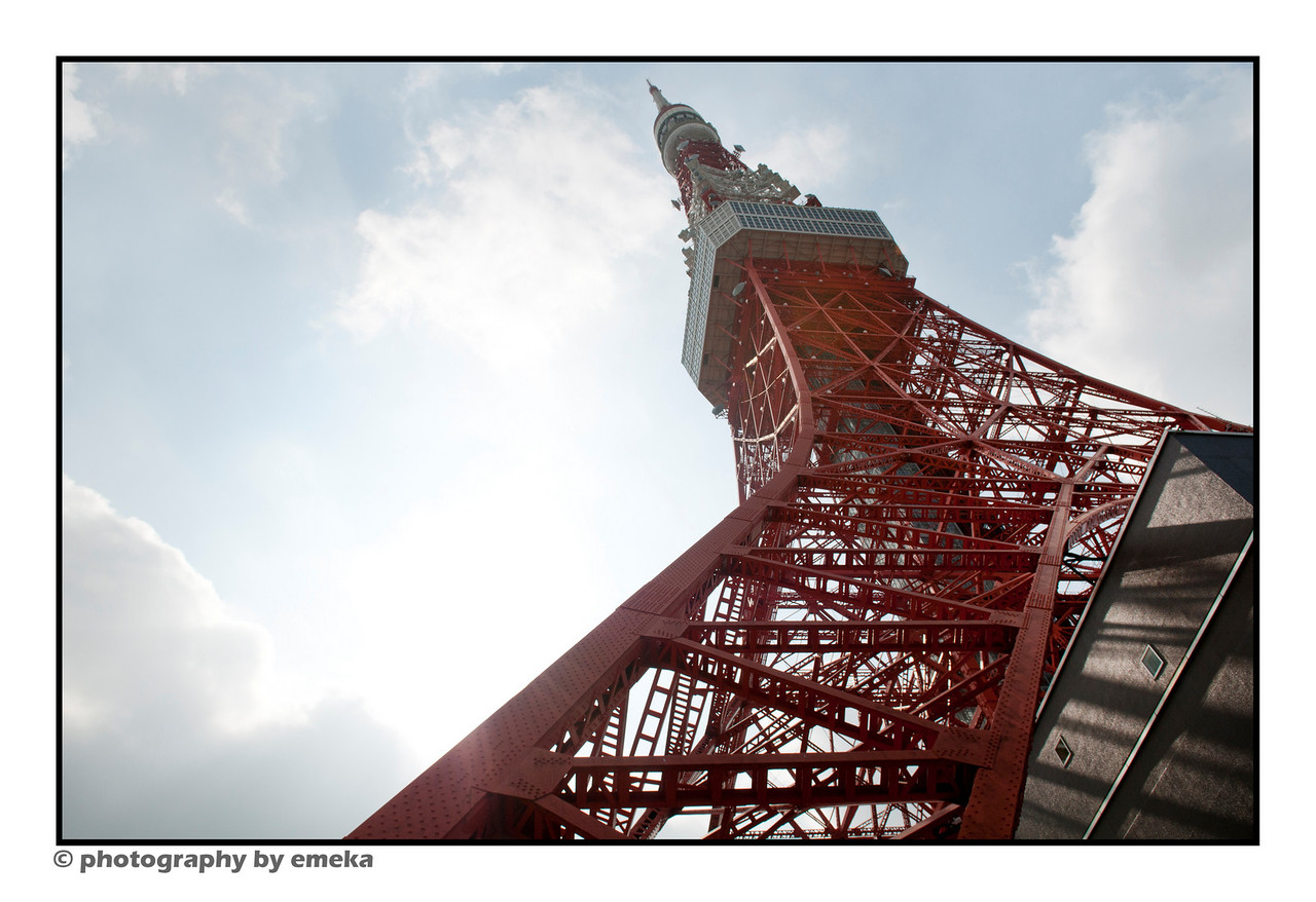 Tokyo Tower, from the base