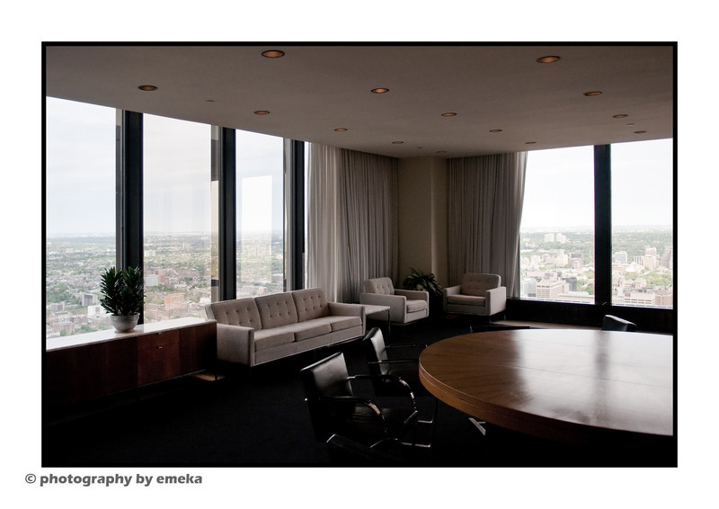 56th floor meeting room, TD Tower