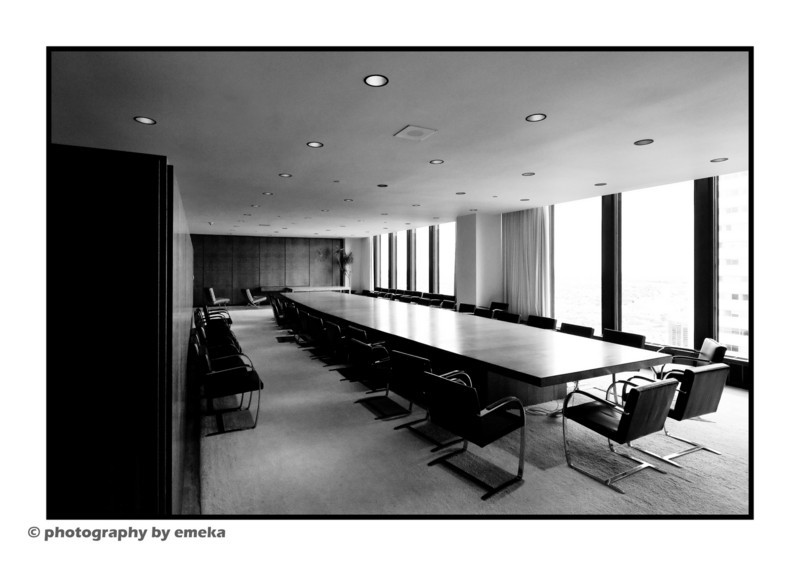 Main Board Room in TD Tower, 56th floor