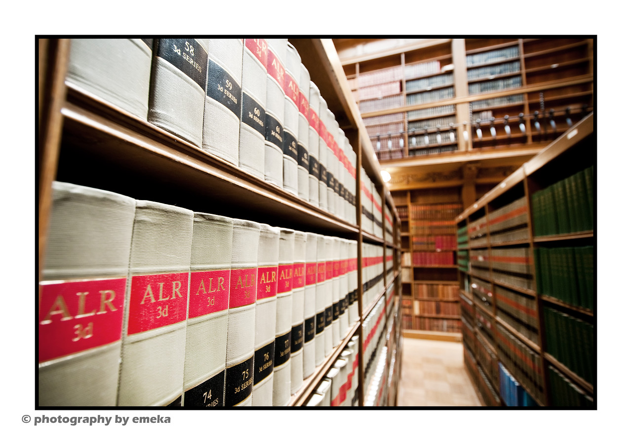 The Law Library inside Osgoode Hall