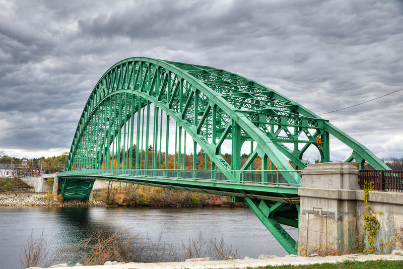 A mighty span across the Merrimack