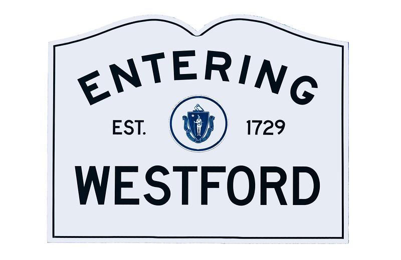 Entering Westford
