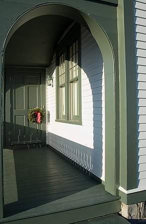 Portland Head Light - the back door.