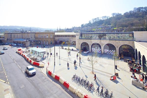 Bath Southgate Transport Interchange and Brunel Square Piazza