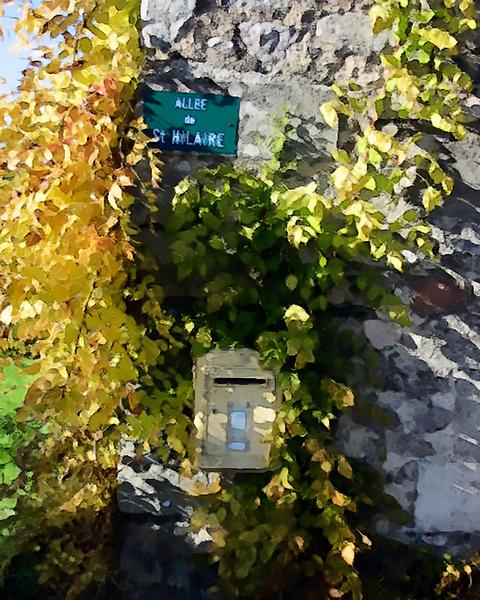 Allee de St. Hilaire, Aude, France