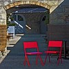 Red Chairs, Musee d'Art Contemporain