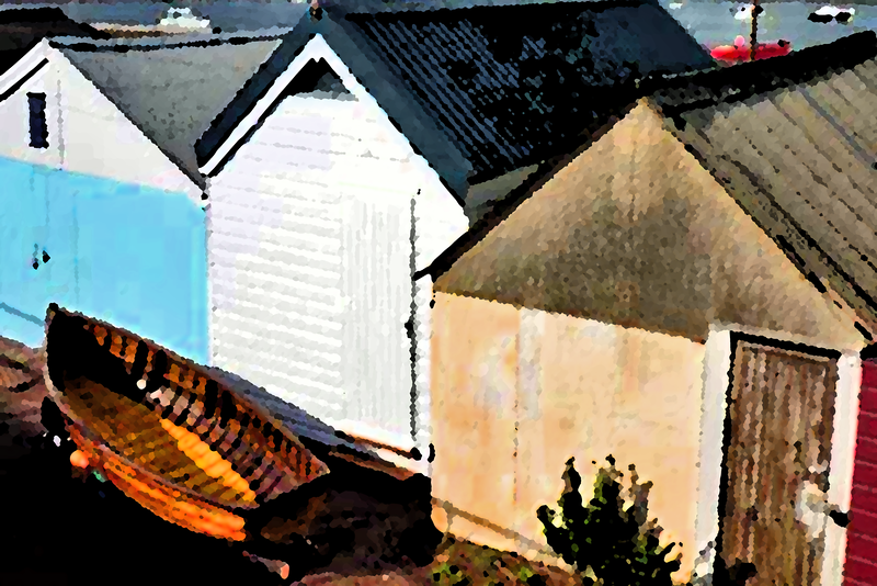 Boat Sheds, Teignmouth