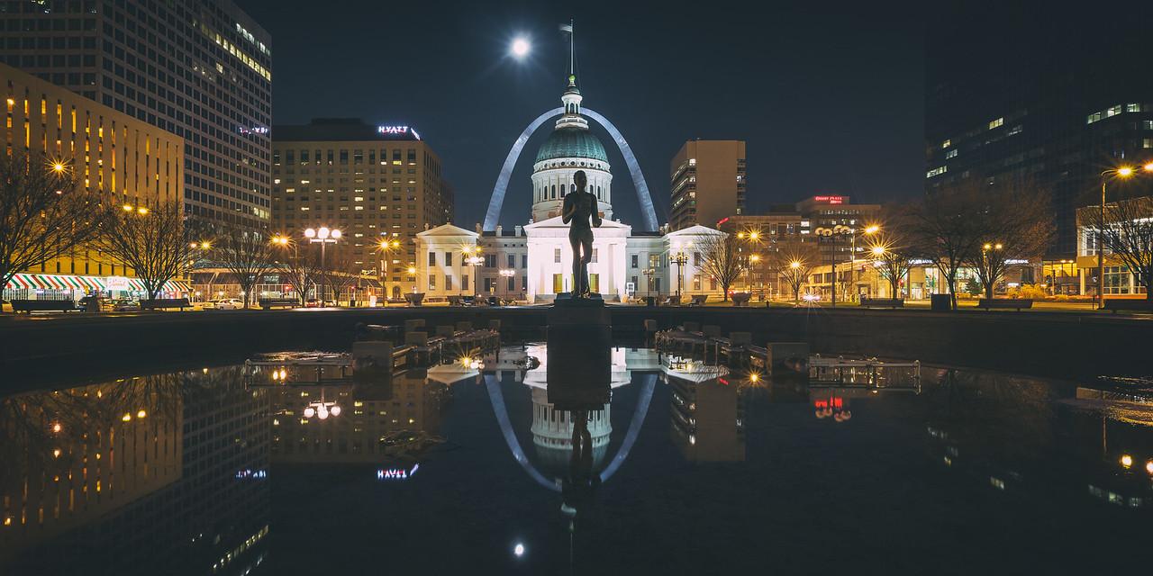 Low Tide in St. Louis