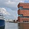 Antwerpen - het MAS (Museum by the River))