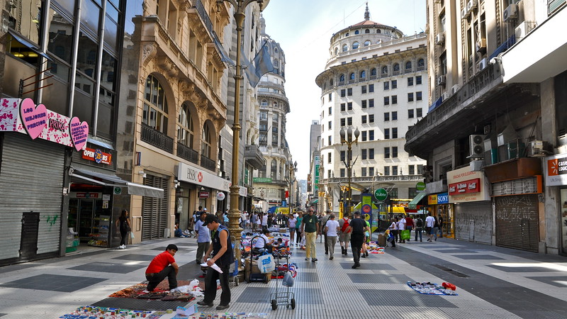 Buenos Aires - Avenida Corrientes