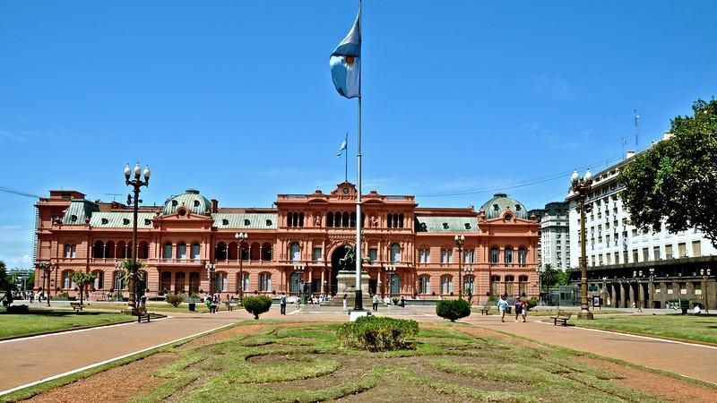 Casa Rosada - Plaza de Mayo - Buenos Aires