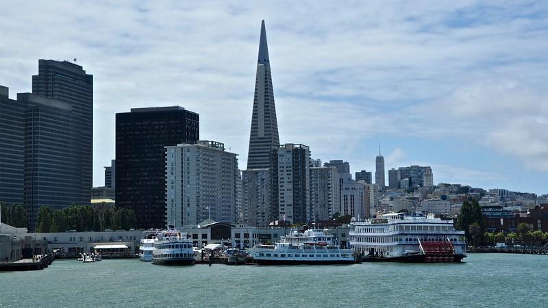 Port of San Francisco - Trans America Piramid