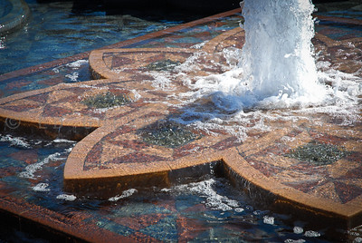 Fountain outside National Botanic Garden, Washington D.C.