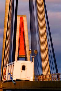 Skytrain Bridge close up