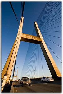 Alex Fraser Bridge conneting Delta to New Westminster