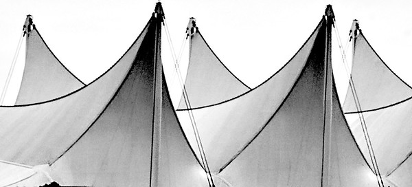 Canada place sails