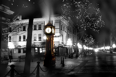 Steam clock on Water Street, Gastown