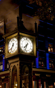 Steamclock in Gastown