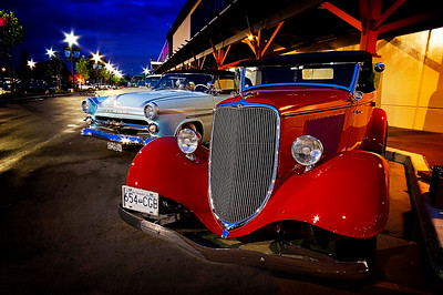 """fabulous display of the old and the new at the annual Langley """" Cruise in """" each September"""