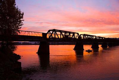 Mission Railroad Bridge