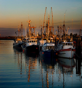 Reflections are always a must to capture by the water. Here the fishingboats at Steveston Harbour do the trick