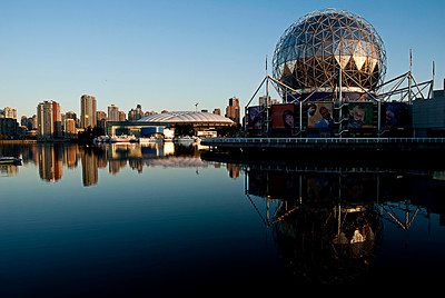 Science world with Vancouver City