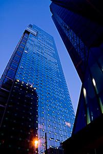 ShangriLa building, tallest building in Vancouver 2009