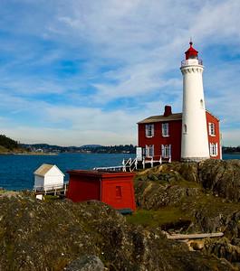 Fisgard Lighthouse, west of Victoria