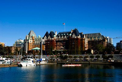 The Empress Hotel in Victoria