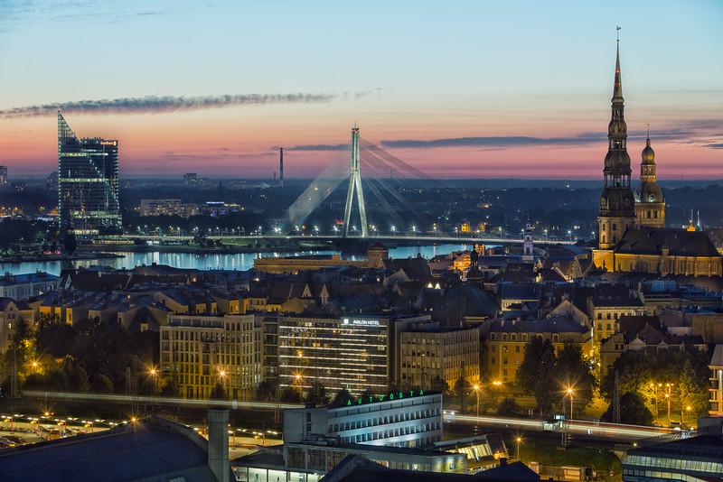 Avalon and Old Riga