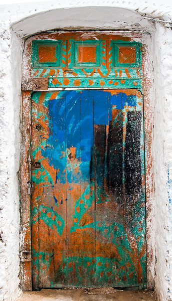 Multi-Colored Door