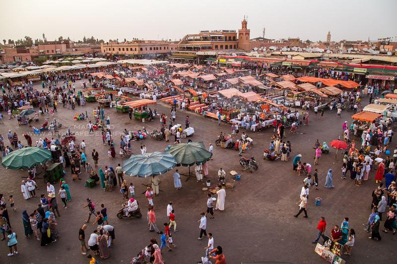 Jma al Fna - Marrakech