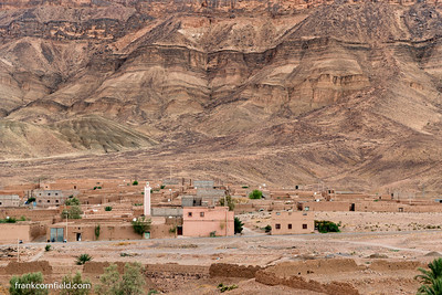View from Tamnougalt, Morocco