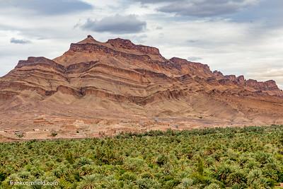 Draa Valley near Tamnougalt, Morocco