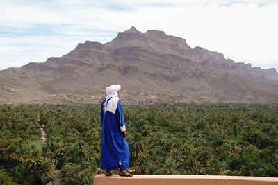 Overlooking the Draa Valley