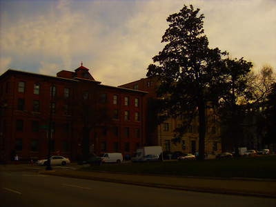 Looking at the Northeast corner of Edenton at Salisbury in Raleigh.