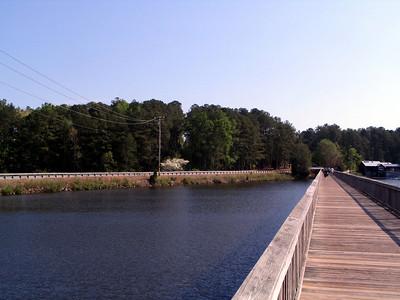 Lake Johnson Boardwalk and Avent Ferry