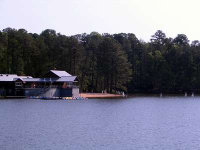 Lake Johnson Boat House