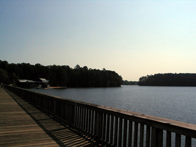 Lake Johnson Boardwalk