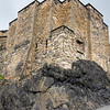Edinburgh Castle Lava Rock